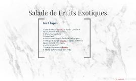 salad de fruits exotiques