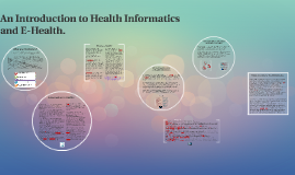 Copy of Introduction to Health Informatics and E-Health