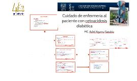 Cuidados de enfermería al paciente con cetoacidosis diabética