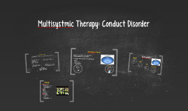 Multisystemic Therapy Conduct Disorder