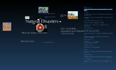 Natural Disasters: Plate Tectonics