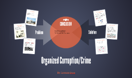 Organized Corruption