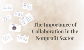 The Importance of Collaboration in the Nonprofit Sector