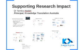 Supporting Research Impact