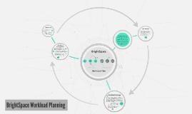 BrightSpace Workload Planning