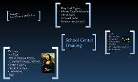 Copy of School Center Presentation