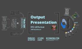 CMSC 198 Practicum Output Presentation