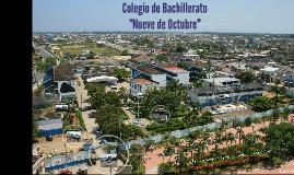 COLEGIO DE BACHILLERATO NUEVE DE OCTUBRE