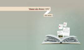 """""""Musee des Beaux Arts"""" - WH Auden"""