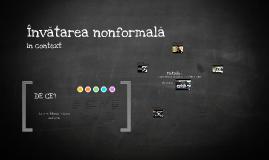 Învățarea nonformală