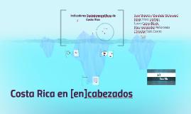 Indicadores Sociodemográficos de Costa Rica