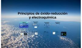 Principios de óxido-reducción y Electroquímica
