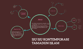 ISU ISU KONTEMPORARI TAMADUN ISLAM
