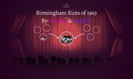 Birmingham Riots of 1963