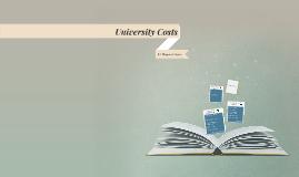 University Costs