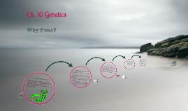 Ch 10 Mendelian Genetics