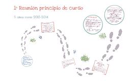 REUNIÓN PRINCIPIO DE CURSO