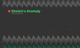 Ebstein's Anomaly