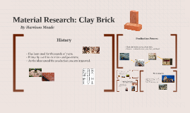 Material Research: Bricks