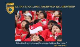 ETHICS EDUCATION FOR HUMAN RELATIONSHIP