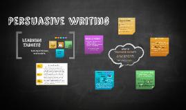 Persuasive Writing Introduction