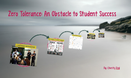 Zero Tolerance: an Obstacle to Student Success