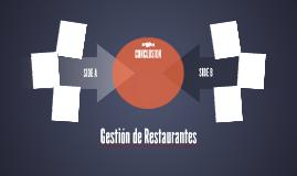 Gestión de Restaurantes