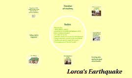 Lorca's Earthquake