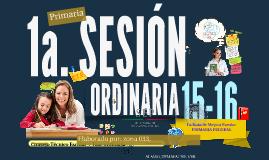 Copy of Copy of C.T.E. 14-15: Quinta sesión ordinaria