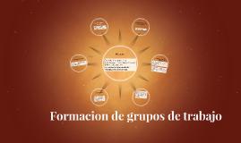 Historia de la formacion de grupos de trabajo