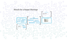 Rituals for a Happy Marriage