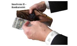 Insolvens II - Konkursrätt