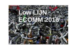 'LOW LIJN' ECOMM 2016