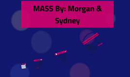 MASS Morgan & Sydney