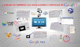Copy of Aplicaciones y Servicios de Google