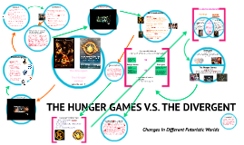 Divergent the hunger games comparison by taylor nelson on prezi ccuart Choice Image