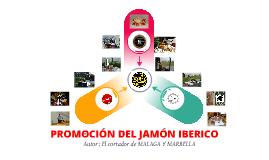 Promocion del jamón iberico.