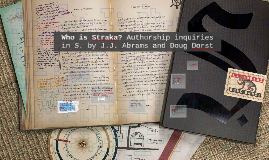 Who is Straka?