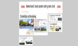 1H/V H1 P4 Steden en hun omgeving
