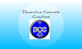 Commercial-Decorative Concrete Creations
