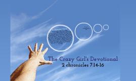 2 Chronicles 7:14-16
