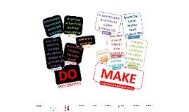 Do Vs Make - RUN & WRITE