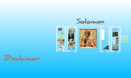 Solomon Presentation