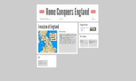 Rome Conquers England