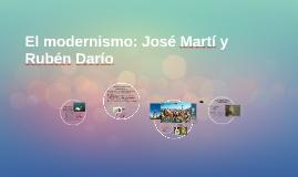 Copy of El modernismo: José Martí y Rubén Darío