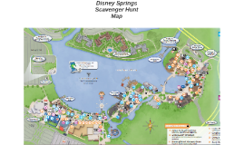 Disney Springs Scavenger Hunt Map