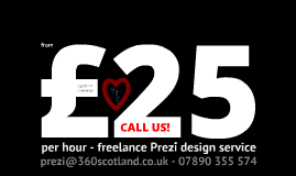 Freelance Prezi designer : £25 per hour! PowerPoint to Prezi enhancement conversion