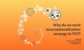 Internationalization strategy in VET