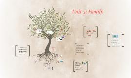 Unit 3: Family