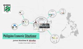 Philippine Economic Situationer